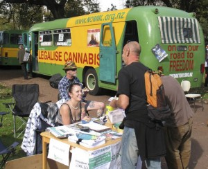 NORML stall